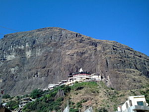 Saptashrungi - Saptashrungi Devi Temple on top of hill range