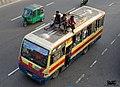 Going local Bangladesh minibus (26345425925).jpg