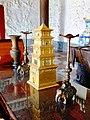 Gold Pagoda inside Wild Goose Pagoda, Xi'an.jpg