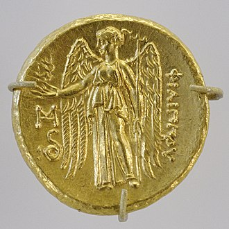 Abydos (Hellespont) - Macedonian gold stater, Abydos mint. 323–317 or 297 BC.