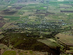 Aerial view of Goldendale