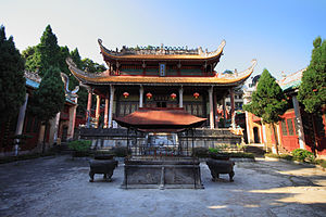 Guangxi - Wenmiao (Temple of the God of Culture, Confucius) in Gongcheng.