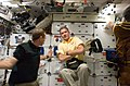 Good Poses for a Photo on the Shuttle Atlantis Middeck (28072728232).jpg