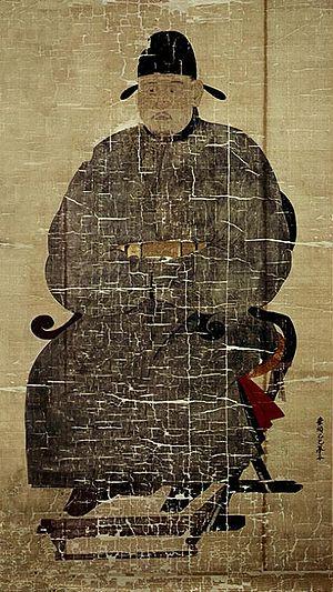 Jeong Mong-ju - portrait of Jeong Mong-ju