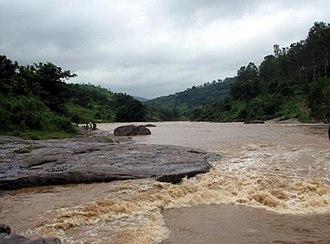 Gosthani River - Image: Gosthani River during rains near Borra Caves 01