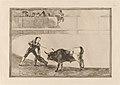 Goya - Pedro Romero matando a toro parado (Pedro Romero Killing the Halted Bull).jpg