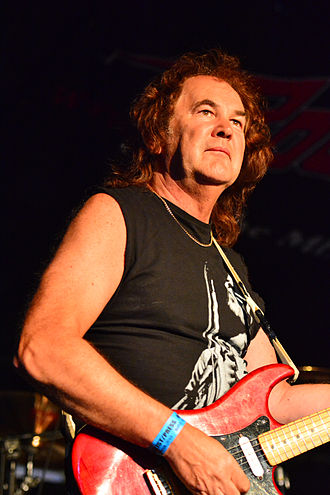 Graham Oliver - Image: Graham Oliver – Headbangers Open Air 2014 01