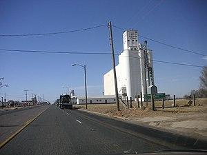 Farwell, Texas - Grain storage in Farwell, Texas