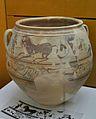 Gran recipient d'emmagatzematge amb decoració figurada, Edeta, Museu de Prehistòria, València.JPG