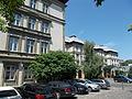 Grand Hotel. Main facade, detail (S). - Margaret Island, Budapest, Hungary.JPG