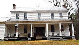 John Coleman House historic plantation house in Eutaw, Alabama, USA