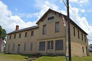 Gratiot, Ohio Village in Ohio, United States
