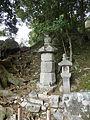 Grave of Kusunoki Masakatsu Tsuikuba Shrine.JPG