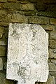 Gravestone with cross in Bazar square 2.jpg
