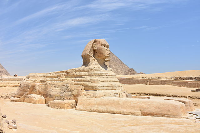 Große Sphinx von Gizeh