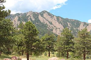 Green Mountain (Boulder, Colorado) - Image: Green Mountain (Boulder, Colorado)