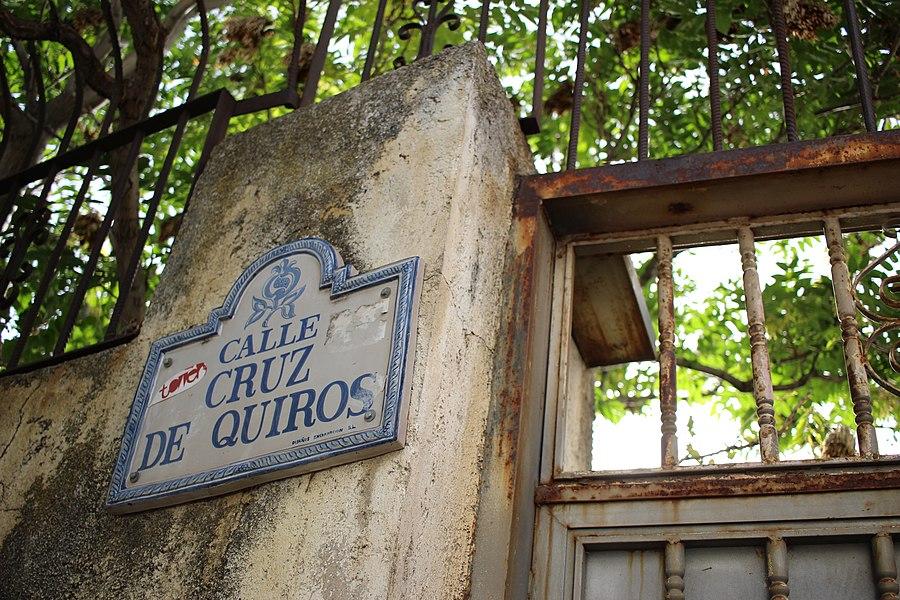 Grenade - Plaque Calle Cruz de Quiros.jpg