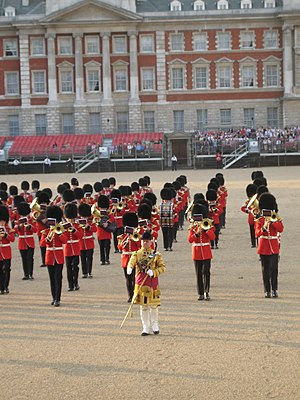 Band of the Grenadier Guards - The band on Horseguards parade in London in 2008