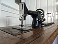 """Gritzner Sewing Machine """"R"""", front left view.jpg"""