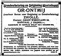 Grontmij advert 1916.jpg