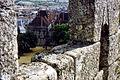 Guimarães-Château des Ducs de Bragance vu du Château de Guimarães-1967 07 27.jpg