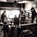 Guitar tracking with the peepingtomboys at bldgs @bacon invader vox recordingstudio.jpg