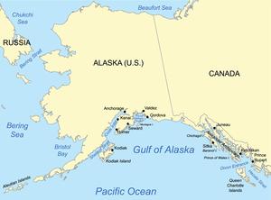 Gulf of Alaska - Image: Gulfofalaskamap