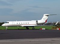 N5616 - GLF5 - Kyrgyz International Airlines