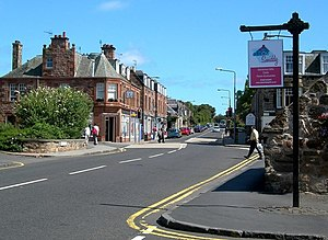 Gullane - Image: Gullane Village geograph.org.uk 1431505