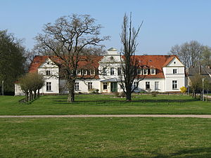 Krakow am See - Image: Gutshaus Gross Grabow