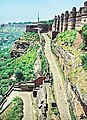 Gwalior Fort View with Doordarshan Tower - panoramio.jpg