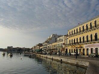 Gytheio - The promenade