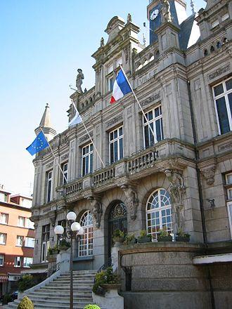 Hénin-Beaumont - The town hall of Hénin-Beaumont