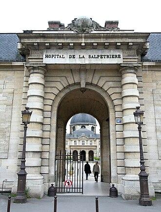Boulevard de l'Hôpital - Hôpital de la Salpêtrière