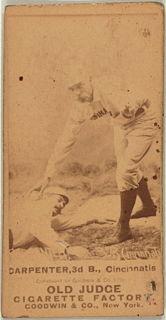 Hick Carpenter Major League Baseball player