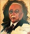 HENRIQUE BERNARDELLI (1858 - 1936), Retrato de Carlos Américo, 23-11-1918, óleo sobre tela, 33,5 x 28 cm, Photo Gedley Belchior Braga.jpg