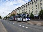 HKL tram line 10 on Mannerheimintie.jpg