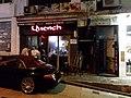 HK 中環 Central 香港蘇豪區 Soho night 依利近街 Elgin Street n 士丹頓街 Staunton Street October 2018 SSG 16.jpg