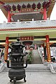 HK 粉嶺 Fanling 蓬瀛仙館 Fung Ying Sen Koon temple chinese gate Guardian Temple footbridge n burner March 2017 IX1 02 (2).jpg