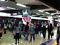 HK Hung Hom MTR Station platform 09 visitors Feb-2013.JPG
