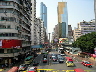 Mong Kok - Argyle Street in Mong Kok