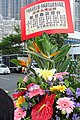 HK STT 中西區海濱長廊 Central and Western District Promenade grand opening Shunde flower n sign April 2018 IX2 (3).jpg