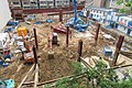 HK Shek Tong Tsui 加倫臺 Clarence Terrace view 石塘咀 翰林軒 Novum West Queen's Road West construction site May 2017 03.jpg
