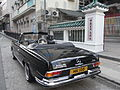 HK Sheung Wan Hollywood Road Benz in black Men Mo Temple Nov-2010 HK105 280 SE tail.JPG