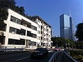 HK Upper Albert Road 萊利樓 Ridley House 港中醫院護士宿舍 HK Central Hospital Nurses Residence view CH Centre BOC Dec-2011.jpg