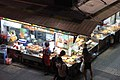 HK Wan Chai 柯布連道 O'brien Road night Lockhard Road Hong Kong Building sidewalk shop street snack food Sept 2017 IX1 06.jpg