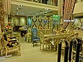 HK Wan Chai Queen's Road East night 永恆 Wing Hang Furniture Curtain shop 6-Apr-2013.JPG