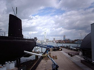 Royal Navy Submarine Museum - Image: HMS Alliance geograph.org.uk 593452