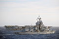 HMS Northumberland with French Aircraft Carrier Charles de Gaulle MOD 45154575.jpg