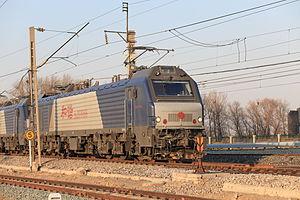 China Railways HXD2 - HXD2C six axle locomotive
